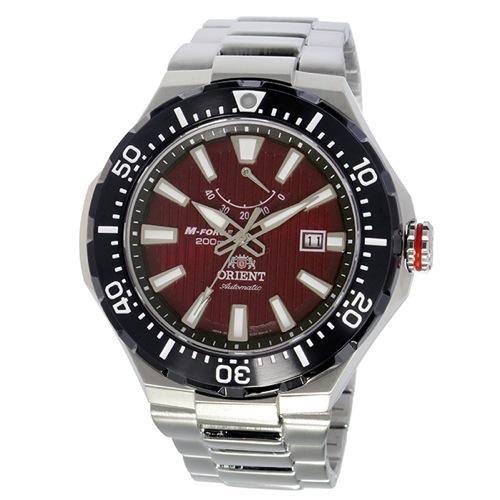 オリエント エムフォース 自動巻き メンズ 腕時計 SEL07002H0 (WV0161EL) レッド