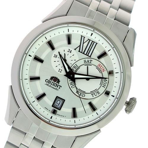 オリエント 自動巻き メンズ 腕時計 SET0X005W0-B ホワイトシルバー/シルバー></a><p class=blog_products_name