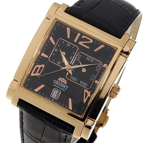 オリエント ORIENT 自動巻き メンズ 腕時計 SETAC007B0 ブラック