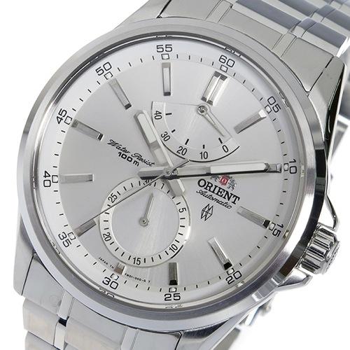 オリエント ORIENT 自動巻き メンズ 腕時計 SFM01002W0 シルバー