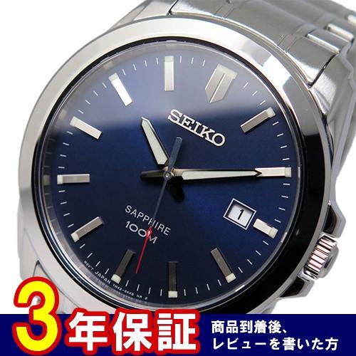 セイコー SEIKO クオーツ メンズ 腕時計 SGEH47P1 ネイビー