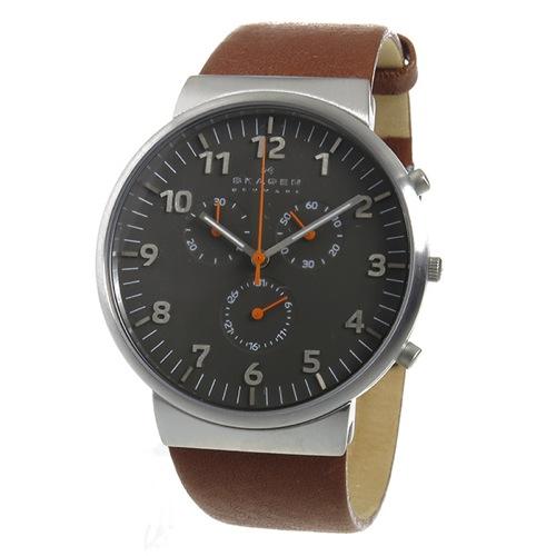 スカーゲン SKAGEN アンカー クロノ クオーツ メンズ 腕時計 SKW6099 グレー