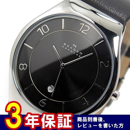スカーゲン SKAGEN クオーツ メンズ 腕時計 SKW6115 ブラック