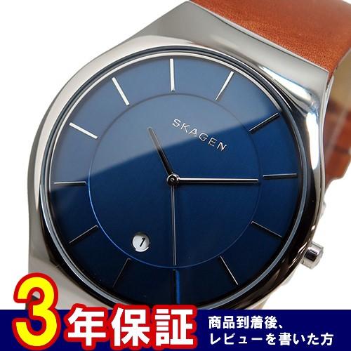 スカーゲン SKAGEN クオーツ メンズ 腕時計 SKW6160 ブルー