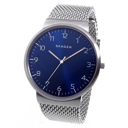 スカーゲン SKAGEN アンカー クオーツ メンズ 腕時計 SKW6164 ブルー