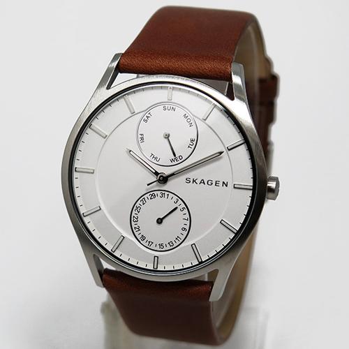 スカーゲン SKAGEN クオーツ メンズ 腕時計 SKW6176 ホワイト