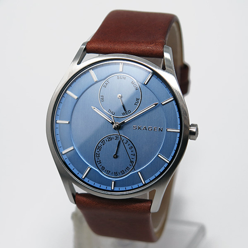 スカーゲン SKAGEN クオーツ メンズ 腕時計 SKW6178 ライトブルー