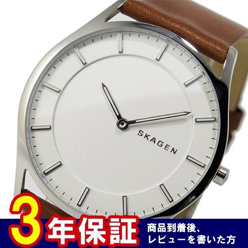 スカーゲン SKAGEN クオーツ メンズ 腕時計 SKW6219 ホワイト