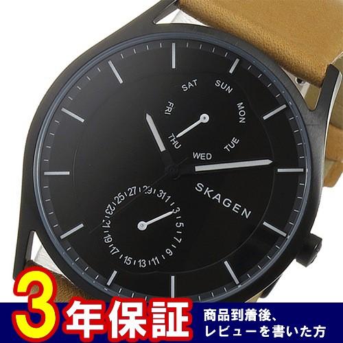 スカーゲン SKAGEN クオーツ メンズ 腕時計 SKW6265 ブラック