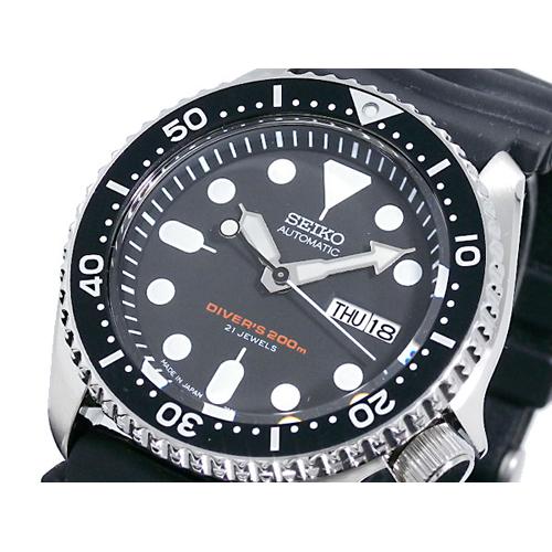 セイコー SEIKO ダイバー ブラックボーイ 自動巻き 腕時計 SKX007J1