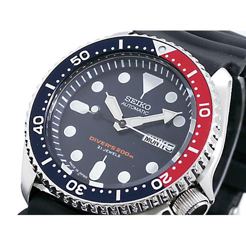 セイコー SEIKO ダイバー ネイビーボーイ 自動巻き 日本製 腕時計 SKX009J1