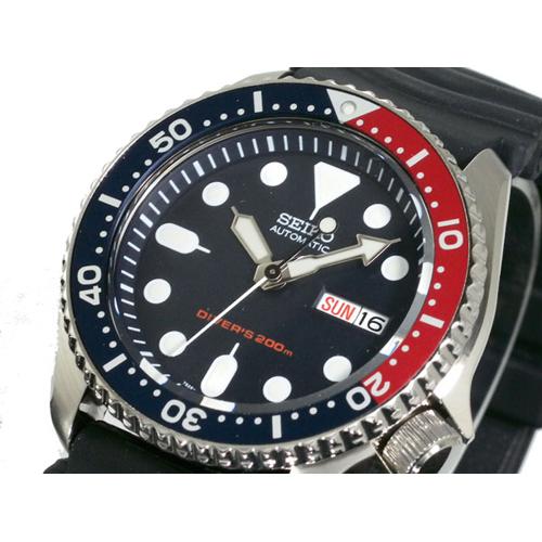 セイコー SEIKO ダイバー ネイビーボーイ 自動巻き 腕時計 SKX009KC