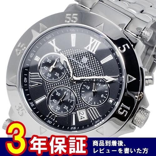 サルバトーレマーラ クオーツ メンズ クロノ 腕時計 SM8005-SSBKBK