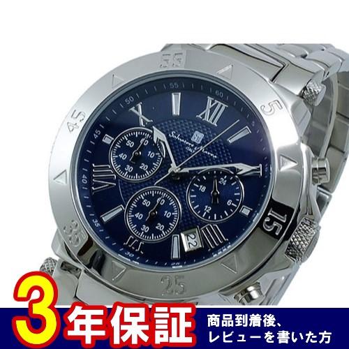 サルバトーレマーラ クオーツ メンズ クロノ 腕時計 SM8005-SSNV