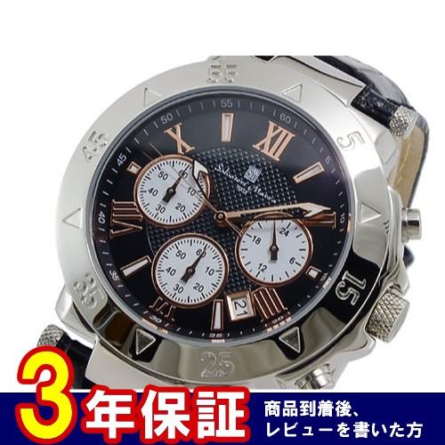 サルバトーレマーラ クオーツ メンズ クロノ 腕時計 SM8005S-SSBKPGWH