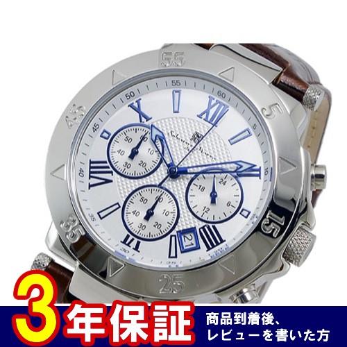 サルバトーレマーラ クオーツ メンズ クロノ 腕時計 SM8005S-SSWH
