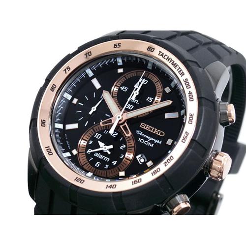 セイコー SEIKO クロノグラフ アラーム 腕時計 SNAD88P1