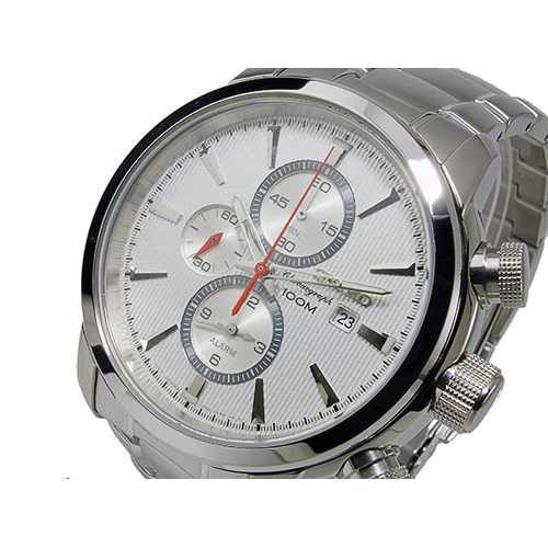 セイコー SEIKO クオーツ メンズ クロノグラフ 腕時計 SNAF43P1
