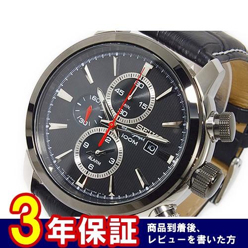 セイコー SEIKO クオーツ メンズ クロノグラフ 腕時計 SNAF47P2