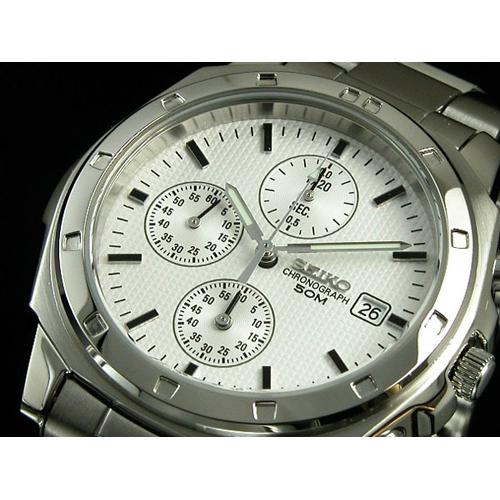 セイコー SEIKO クロノグラフ 腕時計 SND187P1