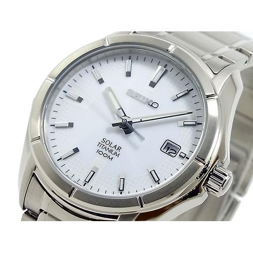 セイコー SEIKO チタン ソーラー 腕時計 SNE139P1