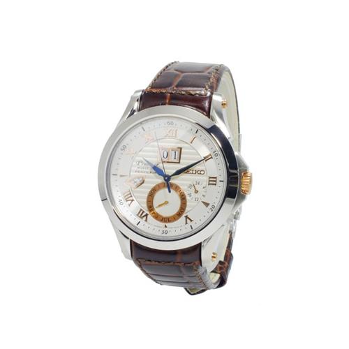セイコー SEIKO プルミエ Premier キネティック メンズ パーぺチュアル 腕時計 SNP082P1
