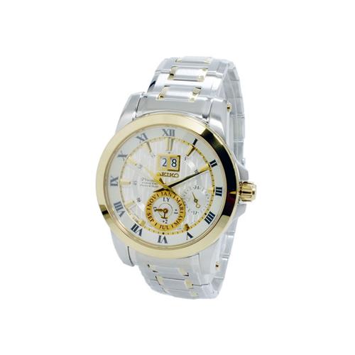 セイコー SEIKO プルミエ Premier キネティック メンズ パーぺチュアル 腕時計 SNP094P1