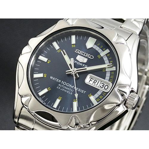 セイコー セイコー5 スポーツ 日本製 自動巻き 腕時計 SNZ447J1