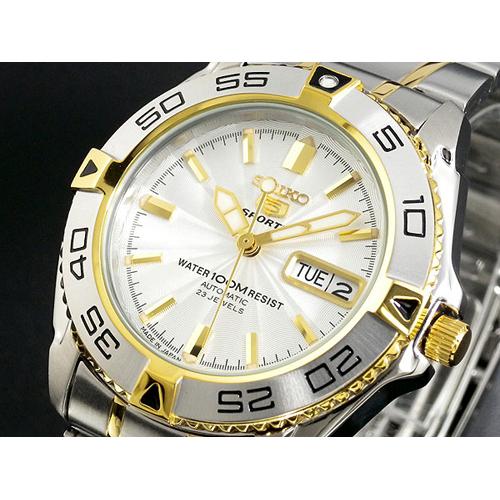 セイコー セイコー5 スポーツ 日本製 自動巻き 腕時計 SNZB24J1
