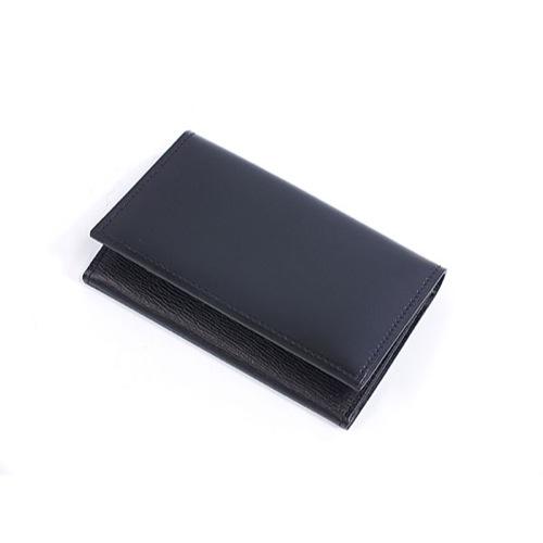 ゾンネ SONNE 名刺入れ/カードケース SOC008RE BLK