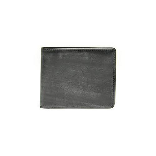 ゾンネ SONNE 二つ折り 短財布 SOW002A-BK-PP ブラック×パープル
