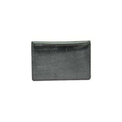 ゾンネ SONNE 名刺入れ/カードケース SOW008A-BK-PP ブラック×パープル