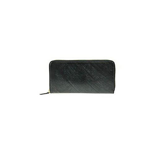 ゾンネ SONNE ラウンドファスナー 長財布 SOW035A-BK-PP ブラック×パープル