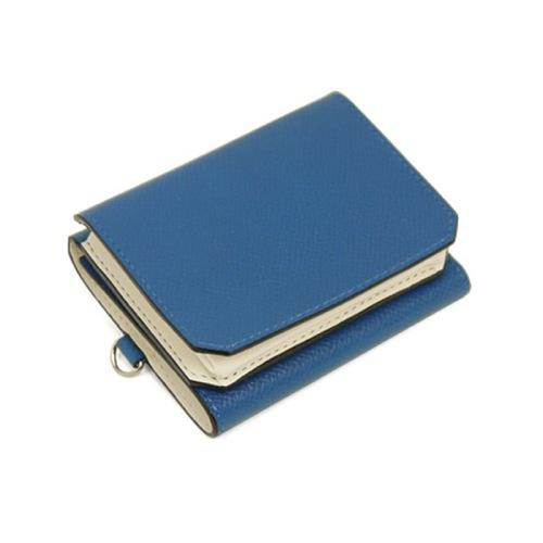 ゾンネ SONNE メンズ 三つ折り短財布 SOZ003/BLU ブルー