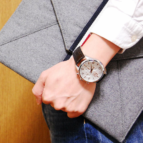 セイコー SEIKO クロノグラフ 腕時計 SPC087P1