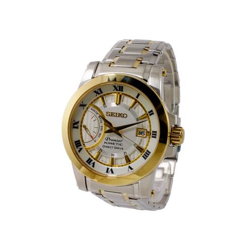セイコー SEIKO プルミエ Premier キネティック メンズ 腕時計 SRG010P1