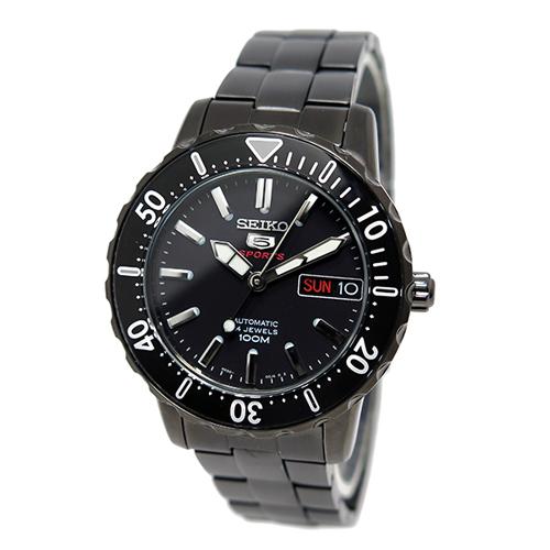 セイコー SEIKO セイコー 5 スポーツ 自動巻き メンズ 腕時計 SRP193K ブラック