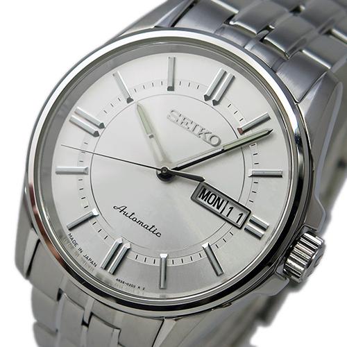 セイコー SEIKO プレサージュ 自動巻き メンズ 腕時計 SRP399J1 ホワイト