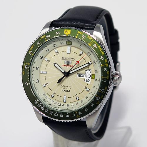 セイコー セイコー5 ファイブスポーツ 日本製 自動巻き メンズ 腕時計 SRP615J1