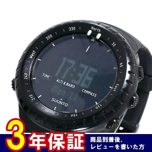 スント SUUNTO コア CORE 腕時計 SS014279010 オールブラック