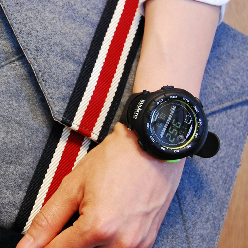 スント SUUNTO ヴェクター VECTOR ブラックライム BLACK LIME 腕時計 SS018729000