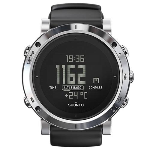 スント コア ブラッシュドスティール クオーツ メンズ 腕時計 SS020339000 ブラック