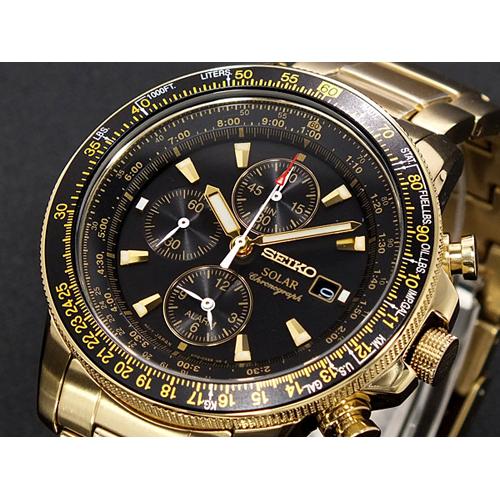 セイコー SEIKO クロノグラフ アラーム 腕時計 SSC008P2