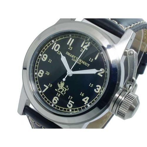 スマート ターンアウト SMART TURNOUT クオーツ メンズ 腕時計 ST-003BK 替えベルト付き