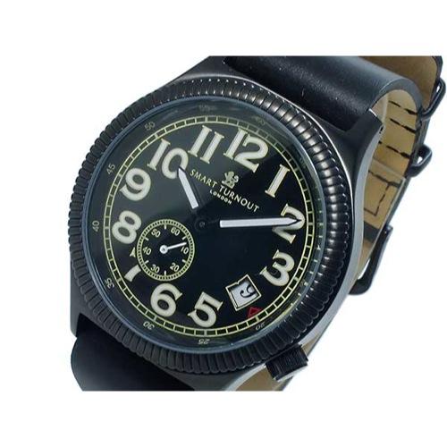 スマート ターンアウト SMART TURNOUT クオーツ メンズ 腕時計 ST-007BBK 替えベルト付き