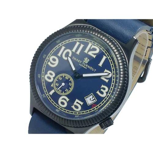 スマート ターンアウト SMART TURNOUT クオーツ メンズ 腕時計 ST-007BBL 替えベルト付き