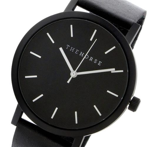 ザ ホース オリジナル クオーツ ユニセックス 腕時計 ST0123-A6 ブラック/ブラック></a><p class=blog_products_name