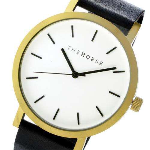 ザ ホース オリジナル クオーツ ユニセックス 腕時計 ST0123-A7 ホワイト/ブラック></a><p class=blog_products_name