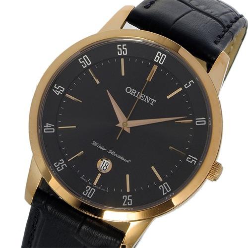 オリエント ORIENT クオーツ メンズ 腕時計 SUNG5001B0 ブラック