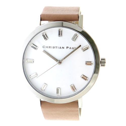 クリスチャンポール クオーツ ユニセックス 腕時計 SW-04 ホワイト></a><p class=blog_products_name